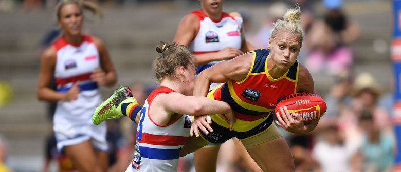 Aflw 30 Round 1 Adelaide Crows V Western Bulldogs Adelaide