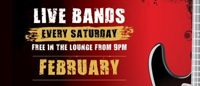 Saturday Night Bands – February