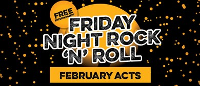 February Rock N Roll Bands