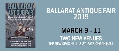 Ballarat Antique Fair 2019