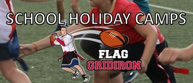 School Holiday Flag Gridiron Camp