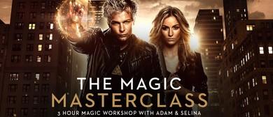 Magic Masterclass – Youth Magic Workshop – Ages 8 –17