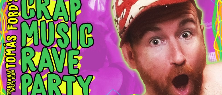 Crap Music Rave Party hits Darwin!
