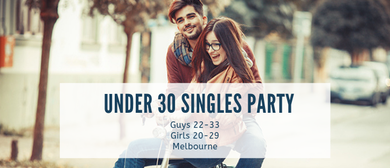 Under 30s Singles Speed Dating Party