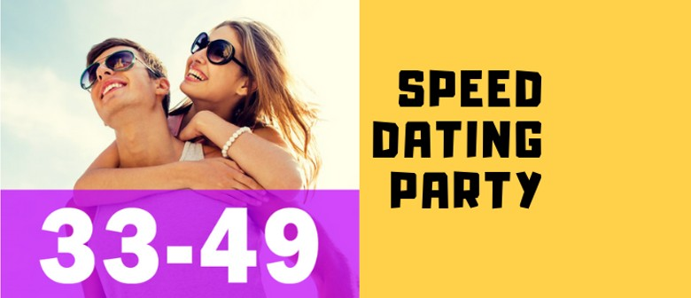 Speed Dating & Singles Meetup Ages 33–49