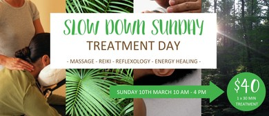 Slow Down Sunday Treatment Day