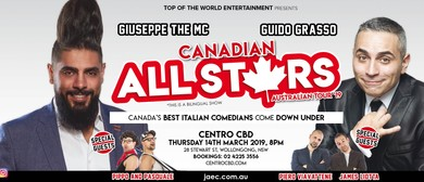 Canadian All Stars Comedy: CANCELLED