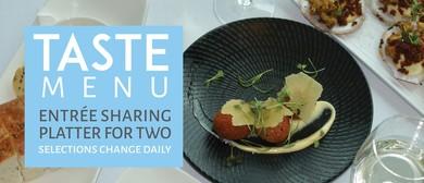 Waterfront Restaurant Taste Menu
