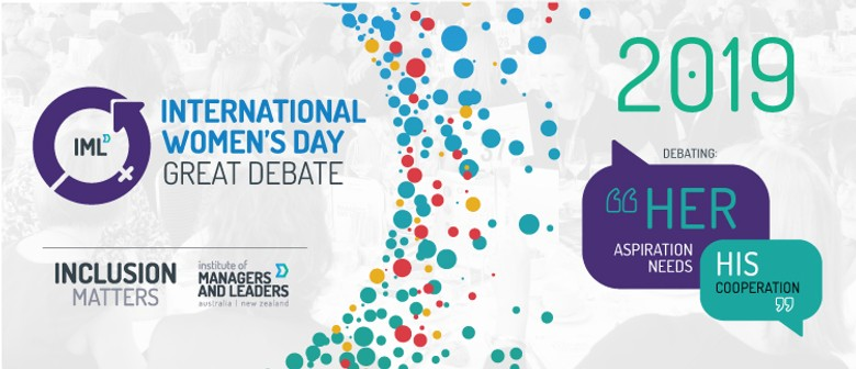 IML International Women's Day Great Debate: SOLD OUT