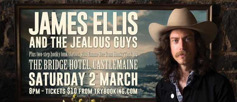 James Ellis and The Jealous Guys and Two-Step Lesson