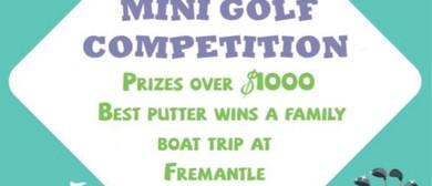 Family Mini Golf Tournament