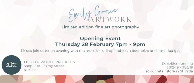 Art Exhibition – Emily Grace Artwork