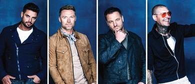 Boyzone – Thank You & Goodnight Tour 2019