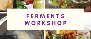 Ferments Workshop – Make Probiotic Foods At Home