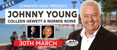Johnny Young, Colleen Hewett & Normie Rowe Concert