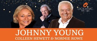 Johnny Young, Colleen Hewett & Normie Rowe Concert