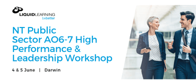 NT Public Sector AO6–7 High Performance Workshop