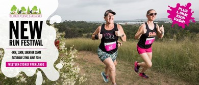 Western Sydney Parklands Trail Run