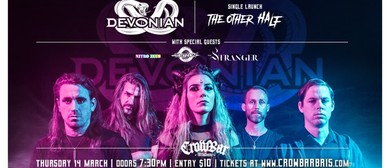 Devonian – Single Launch With the Stranger, Torizon, Nitro Z