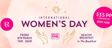 International Women's Day Breakfast with Project Pink