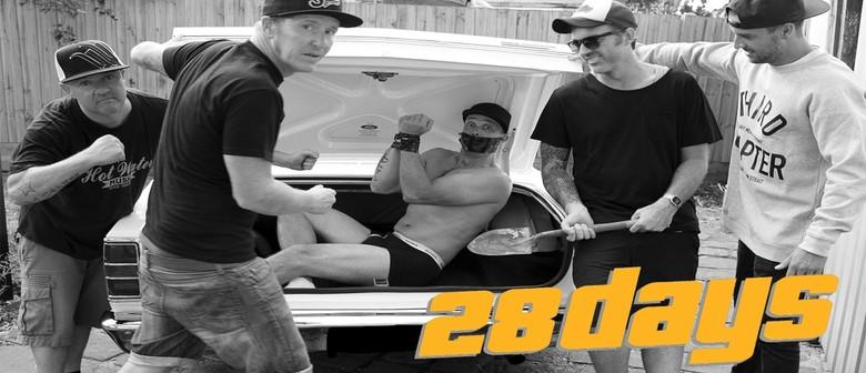 28 Days Plus Special Guests Blindspot & Castle Bravo