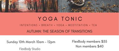 Yoga Tonic