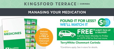 Managing Your Medication By Terry White Chemmart