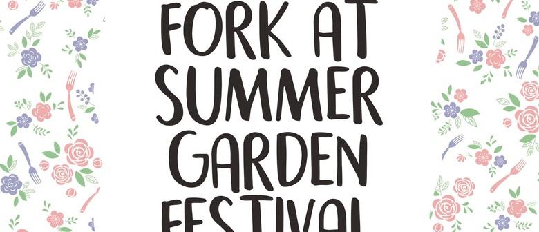 Fork At the Summer Garden Festival