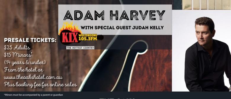 Adam Harvey and Special Guest Judah Kelly