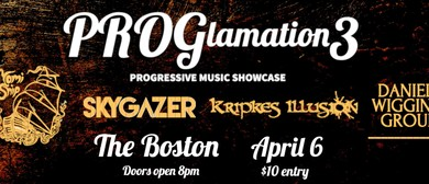 PROGlamation 3: Progressive Music Showcase