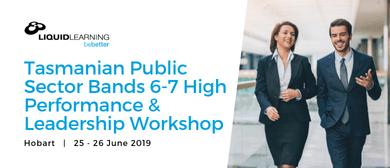 Tasmanian Public Sector Bands 6–7 Leadership Workshop