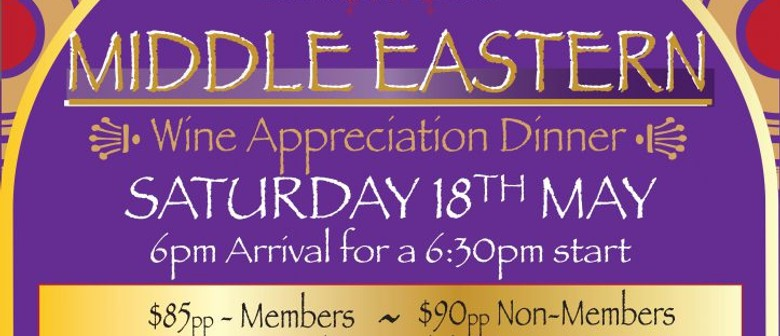 Middle Eastern Wine Appreciation Dinner
