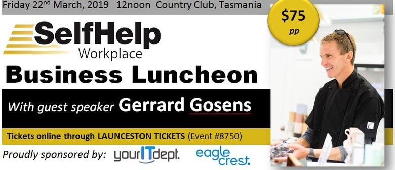 Lunch With Gerrard Gosens