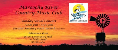Maroochy River Country Music Club Sunday Social