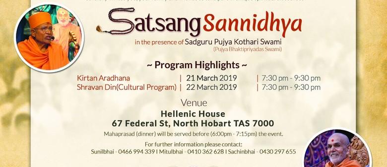 Sant Sannidhya – Indian Community Cultural Programme