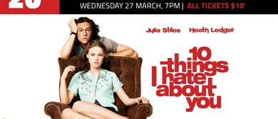 10 Things I Hate About You – 20 Year Anniversary Screening