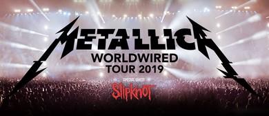 Metallica – WorldWired Tour 2019: POSTPONED