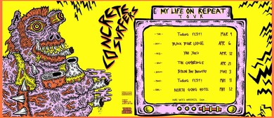 Concrete Surfers – My Life On Repeat Tour