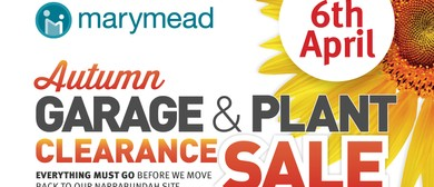 Marymead's Autumn Garage and Plant Clearance Sale
