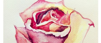 Watercolours for Beginners – Learn to Paint Rose
