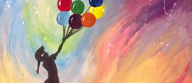 Paint Like Bansky – Painting Party