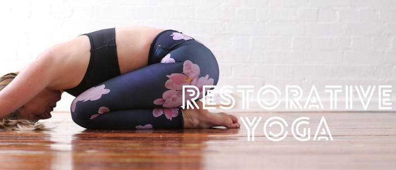 2-Hour Restorative Yoga Workshop