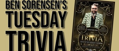 Tuesday Trivia With Ben Sorensen