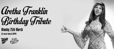 Aretha Franklin Birthday Tribute With the Monday Jam