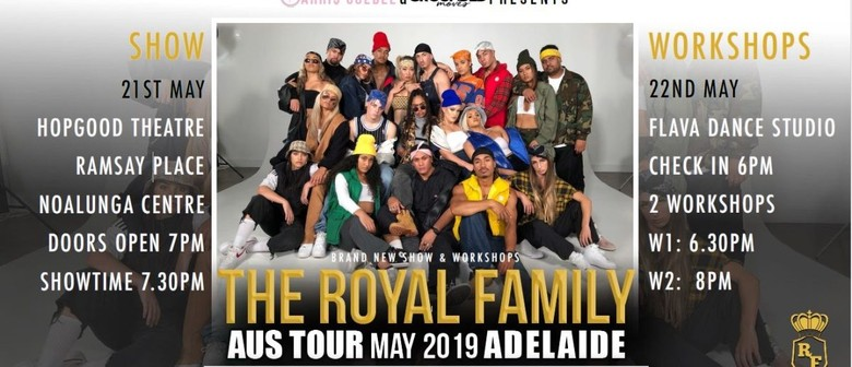 Parris Goebel – Royal Family Show