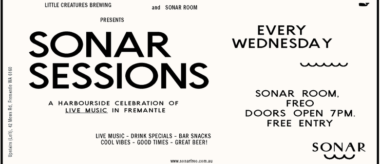 Sonar Session Feat. Dave Robertson & The Kiss List