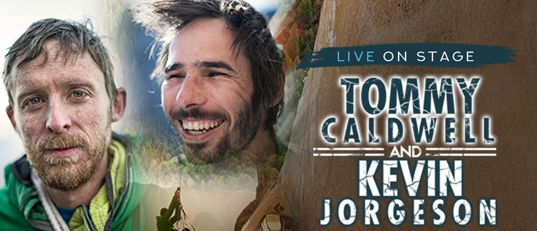 Tommy Caldwell and Kevin Jorgeson Live On Stage