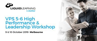 VPS 5–6 High Performance & Leadership Workshop