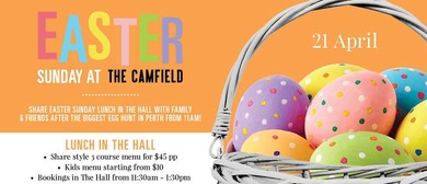 Easter at The Camfield