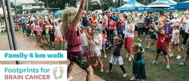 Footprints for Brain Cancer – 4km Family Fun Walk